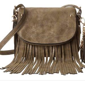 Aldo Fringe Crossbody Bag